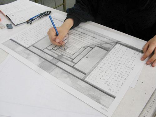 イメージ表現制作風景